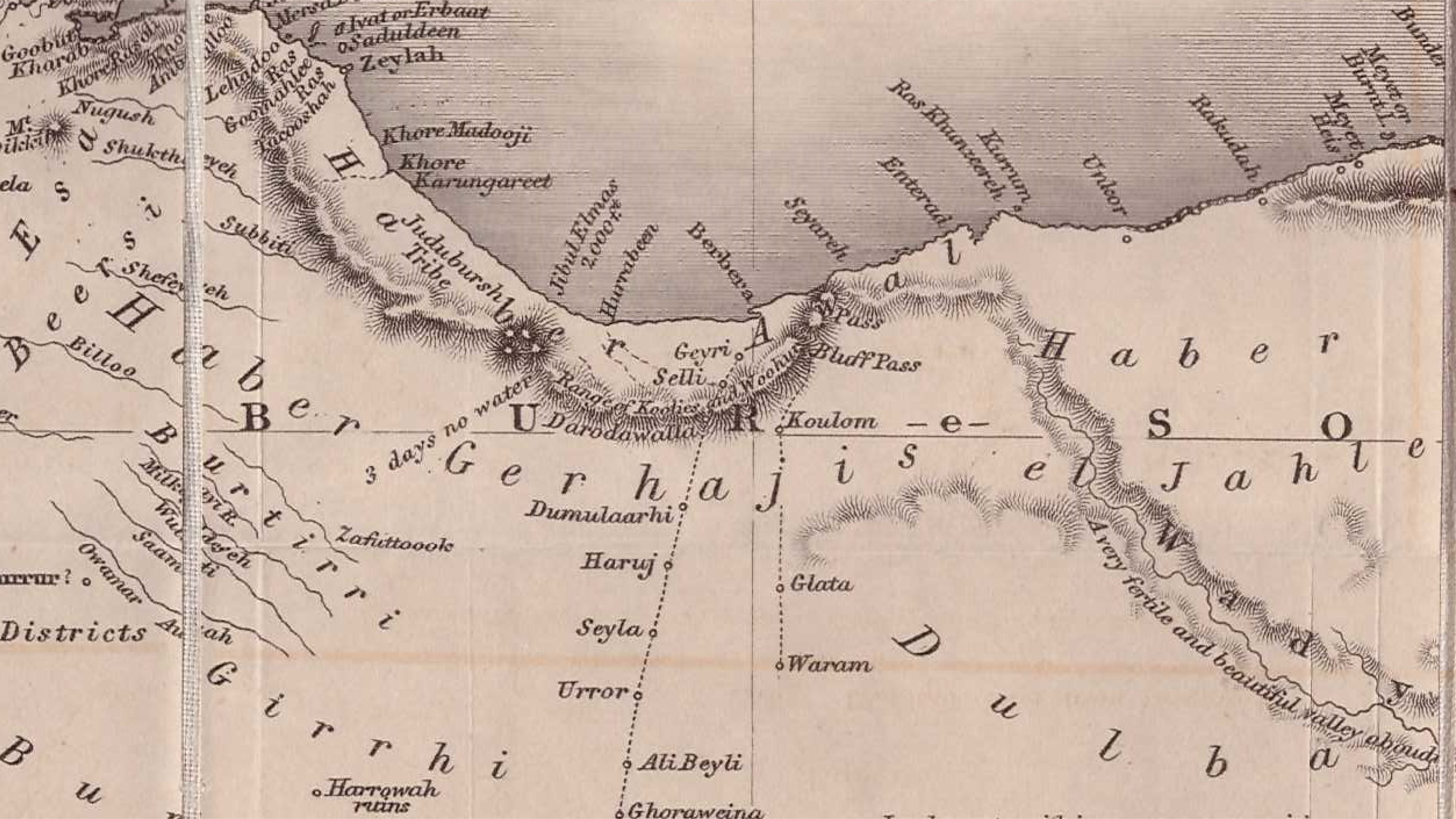Map Horn of Africa Archaeological sites_Mesa de trabajo 1 copia 4